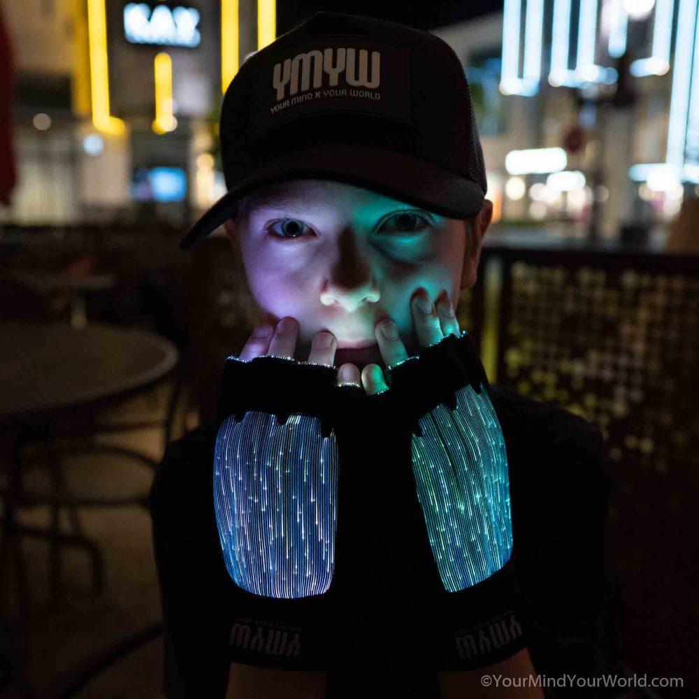 light up finger gloves for kids