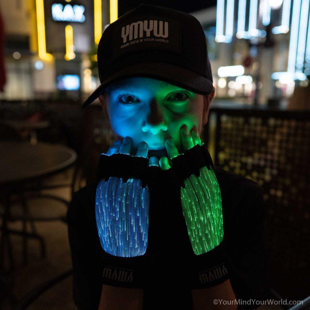 led light up gloves for kids