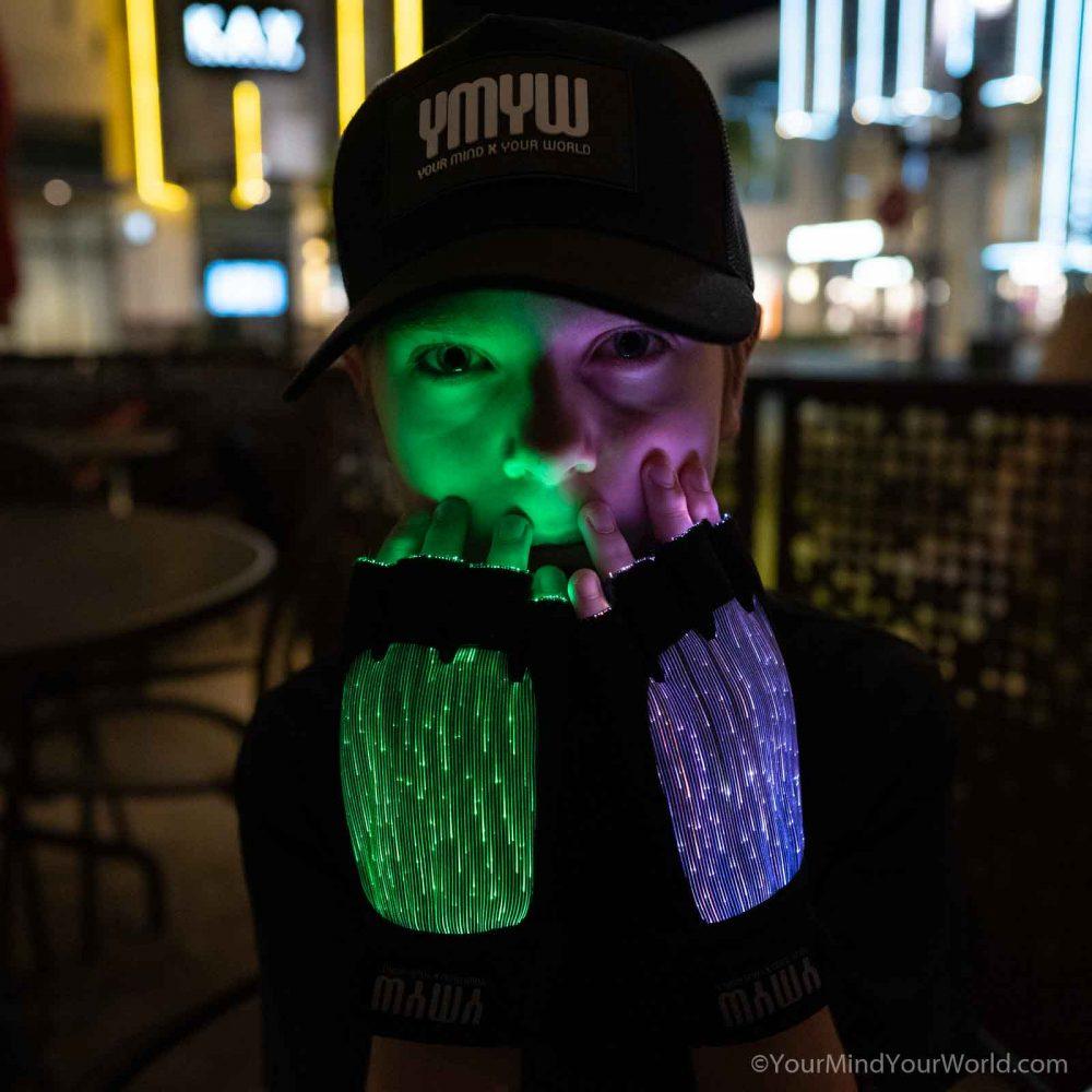 finger light gloves for kids