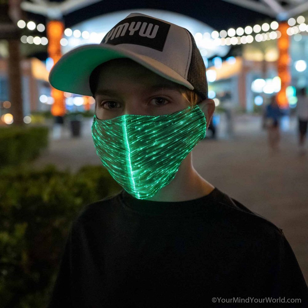 led mask for kids & teens