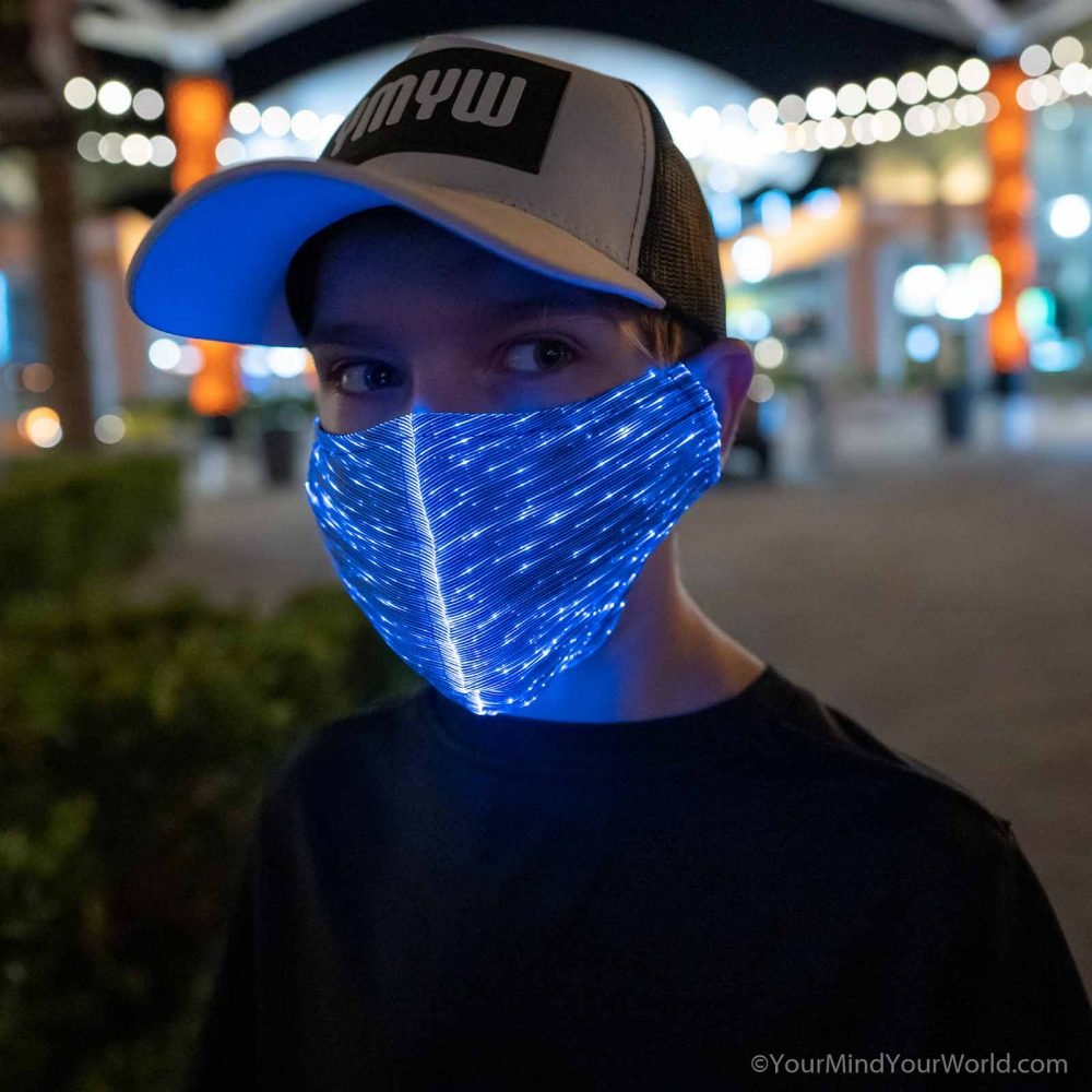 light up purge mask for kids and teens
