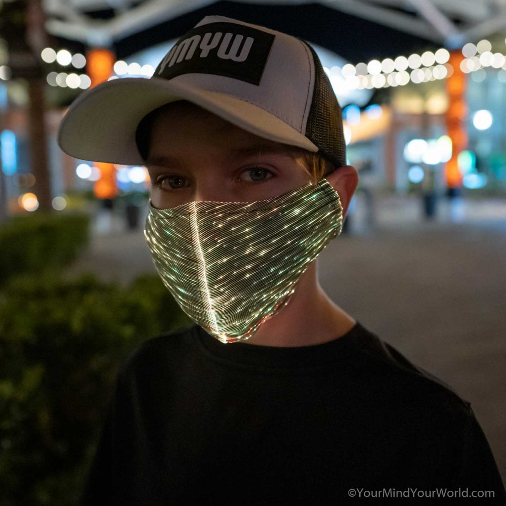 led purge mask for teens