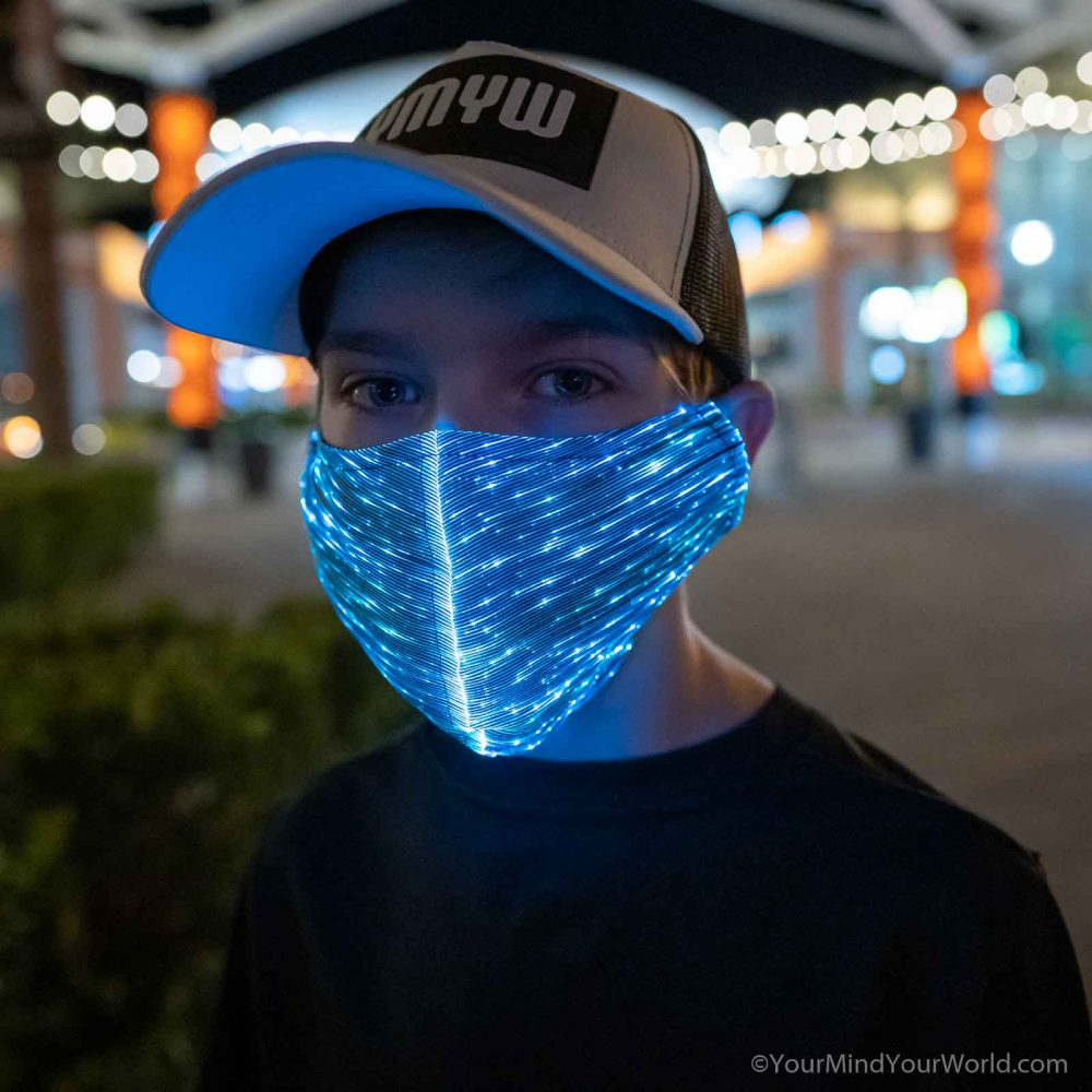 light up mask for teens and kids