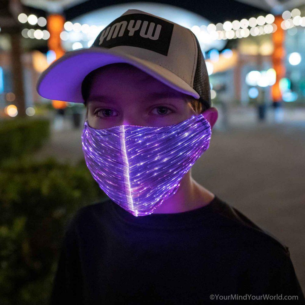 light up purge mask for kids