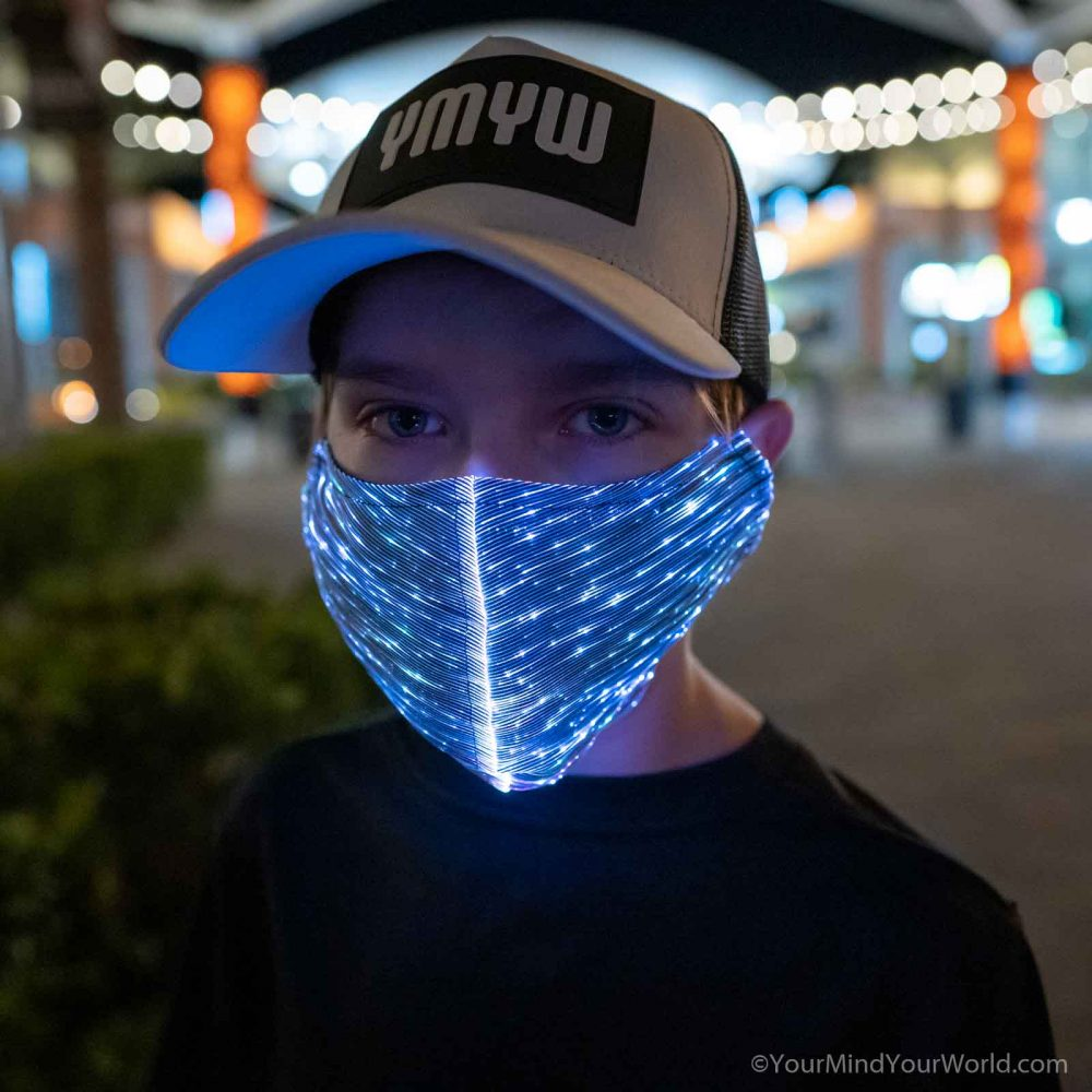 light up purge mask for teens
