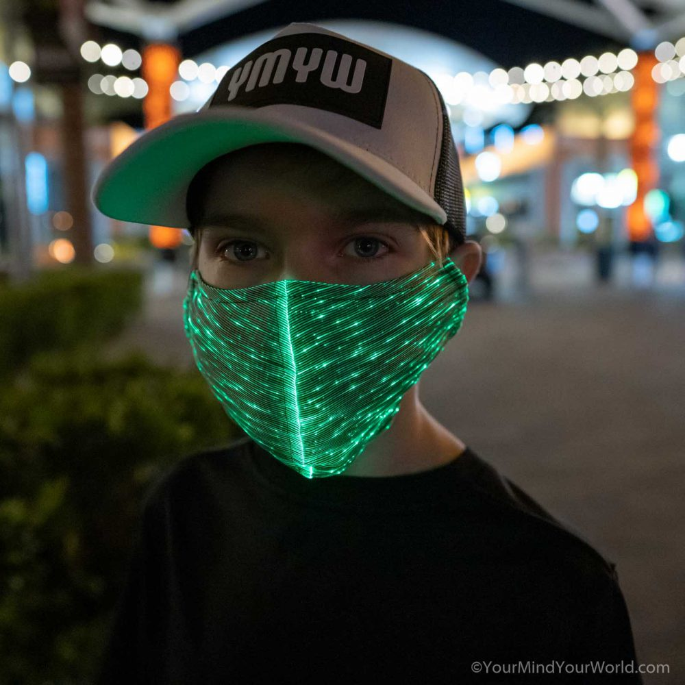 led purge mask for kids and teens