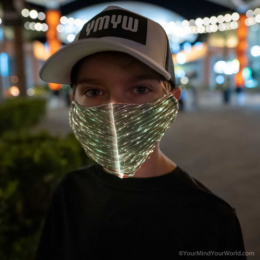 light up mask for kids