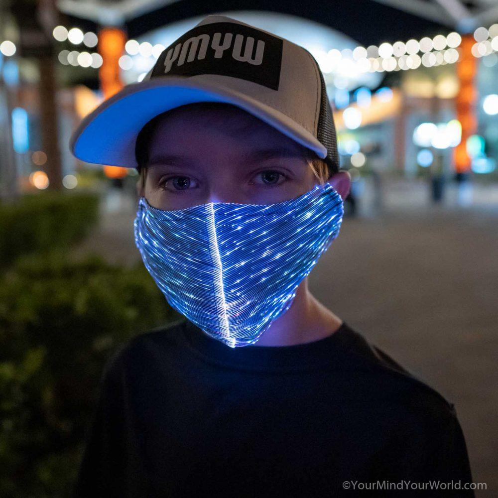 led mask for kids