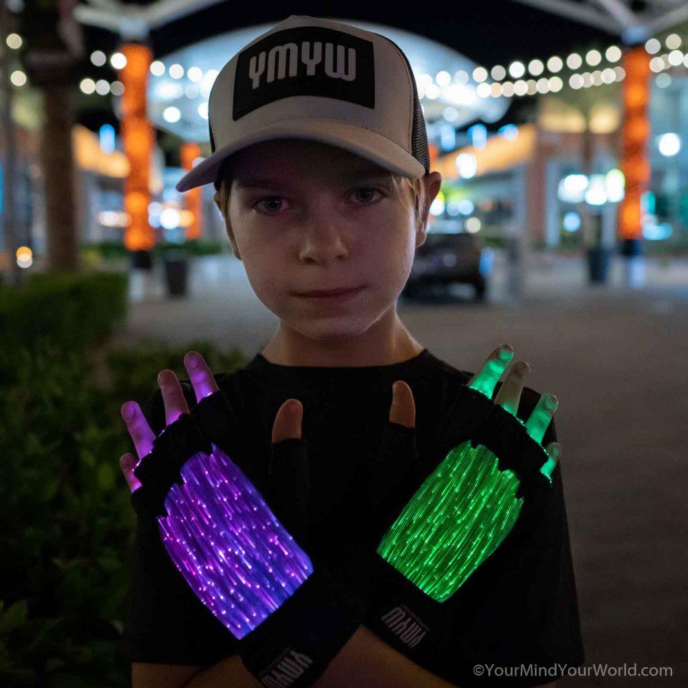 finger light gloves for teens