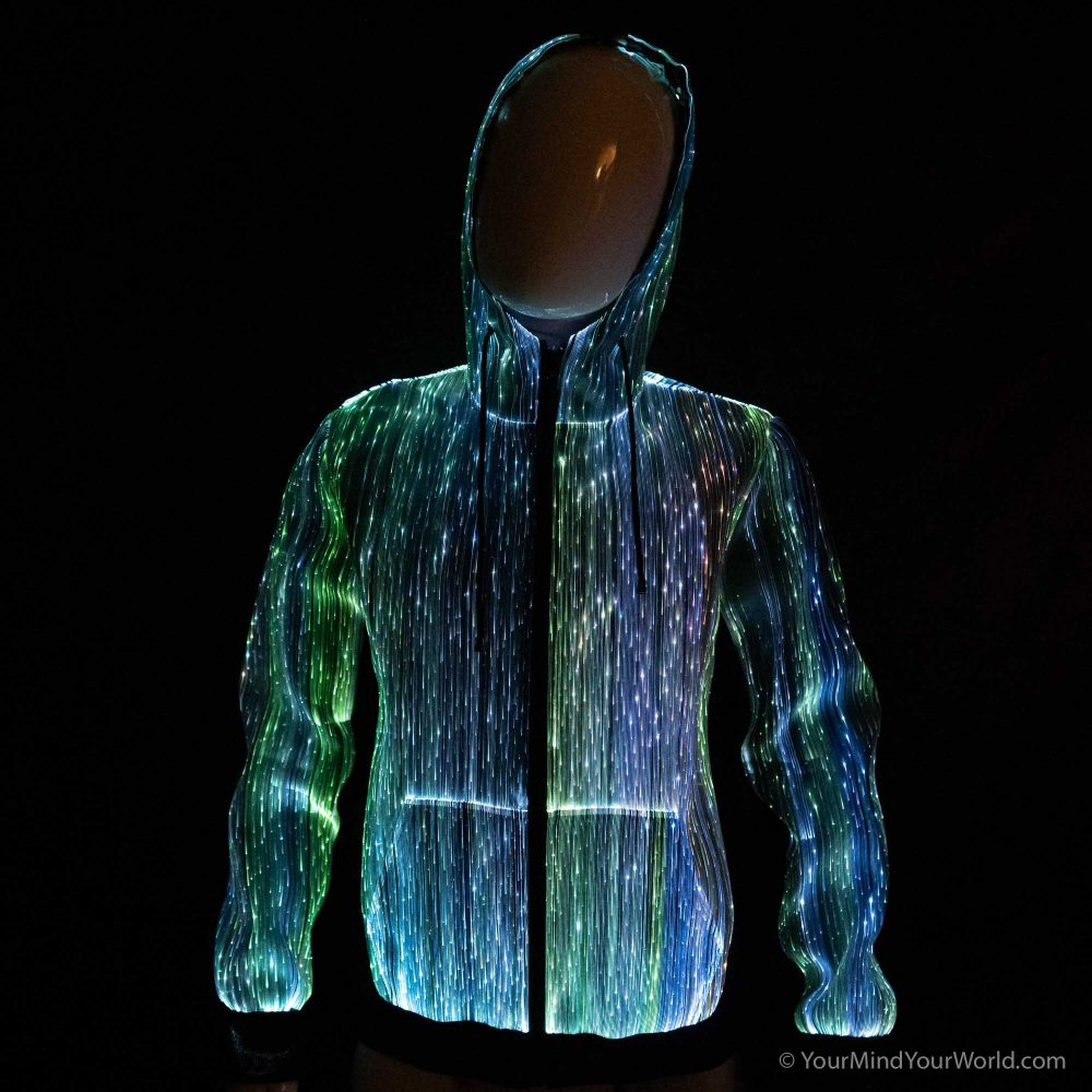 light up long sleeve hoodie